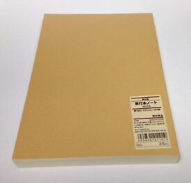 brand new muji notebooks