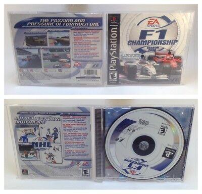 F1 Championship Season 2000 (Sony PlayStation 1, 2000) PS1 Complete Tested comprar usado  Enviando para Brazil