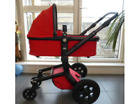 JOOLZ Day - Fire Red Carrycot, Pushchair, Accessories