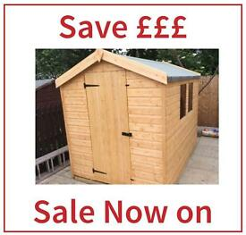 4x4 apex garden shed all sizes available high quality low price free delivery - Garden Sheds Gumtree