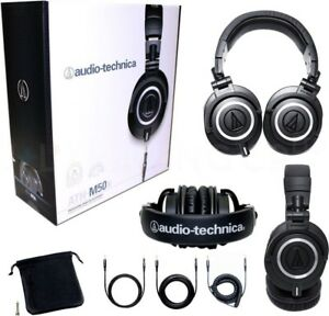 NEW.  Audio-Technica ATH-M50x Professional Headphones,