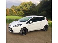 2010 Ford Fiesta Edge 1.25 White Manual Petrol
