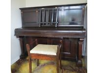 Strong Iron-Frame piano. (professionally restored)