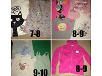 Girls clothes and shoes 7-10years