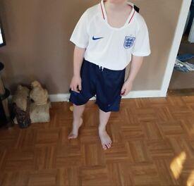 Kids england football kit