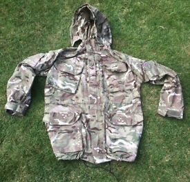 British Army Windproof combat jacket in MTP