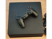 PS4 Slim, 500GB, black