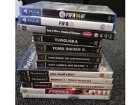 GAME SELECTION, PS1, PS4, PSP, PS2, ETC