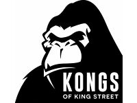 Part time positions available at Kongs