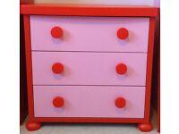 Children's Pink Ikea Furniture