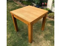 Next Cambridge Oak Extending Table and 4 Chairs