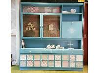 *FREE LOCAL DELIVERY* Stunning shabby charm shabby chic wall dresser