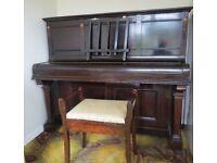 Professionally restored Upright Piano