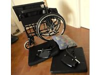Lomax Foldable Car Boot Wheel Chair