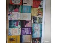 40 fiction novels for £15