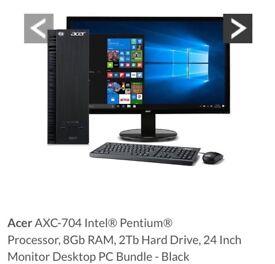 Acer AXC-704 desktop computer