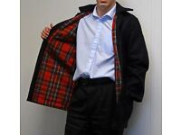 Tartan Lined DONKEY JACKET Size SMALL ADULT **£10** CLEARANCE Collect Only Halesowen B63 3SW