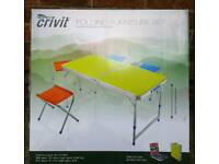 folding camping table new