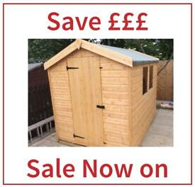 6x4 Quality Apex Garden Sheds £289.00 All Sizes Available