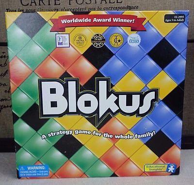 Blokus Board Game Complete Set