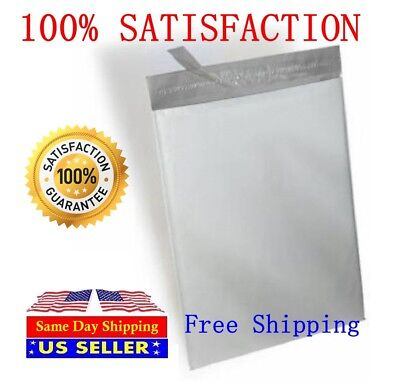 300 Combo White Poly Mailer Self Sealing Shipping Bags 100 6x9 200 10x13