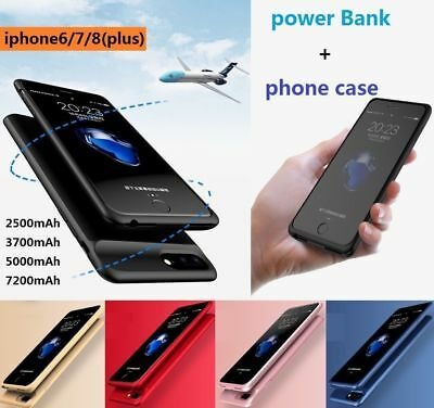 Mobile Power Battery Charger Ultra Phone Case Cover for IPhone 6/7/8/6s or Plus ()