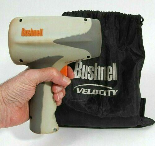 Bushnell Velocity Speedster Radar Gun LCD Softball Baseball Tennis MPH w/ bag