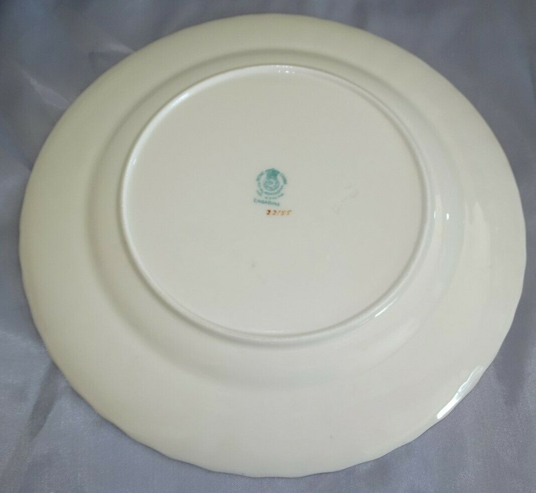 "Royal Worcester England Engadine Set of 11 Luncheon Plates 9 1/4"" Bone China"