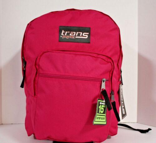 """Jansport SuperMax 17.5"""" LAPTOP / TABLET Backpack - X-LARGE 36L -HOT PINK ❤️NEW❤️"""