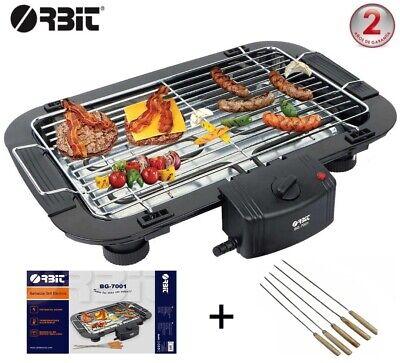 Barbacoa electrica BBQ Grill Parrilla plancha de asar para cocina camping