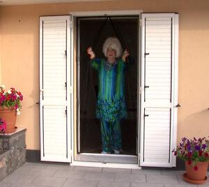 Tenda zanzariera con magneti x porta e o finestra - Zanzariera magnetica finestra ...