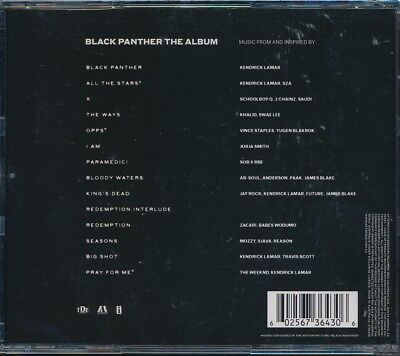 Black Panther The Album Cd Music From And Inspired By The Movie New New Khalid