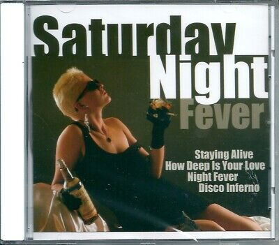 Saturday Night Fever Shoes (Saturday Night Fever (2001) CD NUOVO Staying Alive. Disco Inferno. Boogie)