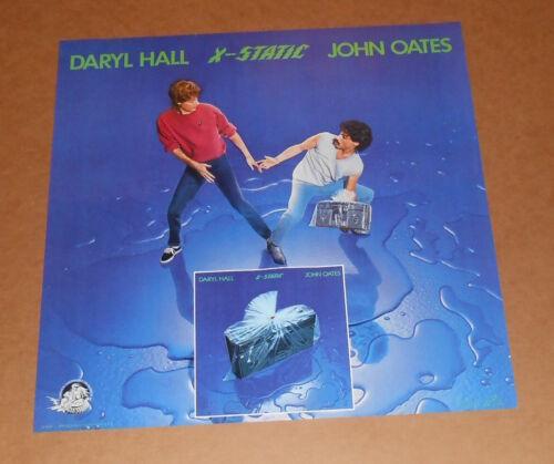 Daryl Hall & John Oates X-Static Original 1979 Promo Poster RARE 22x22