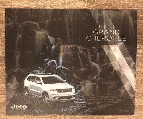 2019 JEEP GRAND CHEROKEE 86-page Original Sales Brochure