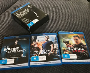 The Bourne Identity / The Bourne Supremacy / The Bourne Ultimatum Springwood Logan Area Preview