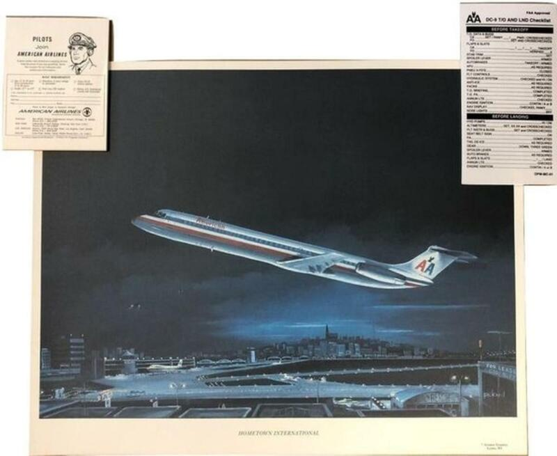 Vintage 1960s American Airlines Grouping MIS-0111