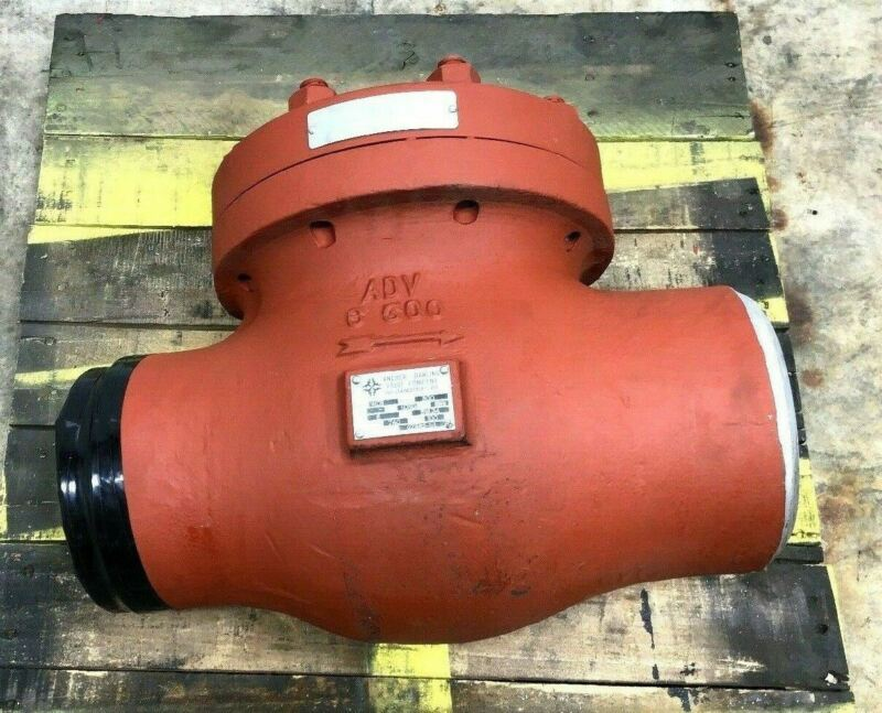 NEW ANCHOR / DARLING WCB SWING CHECK VALVE SIZE-6 740-PSI 300-RATING FLOWSERVE