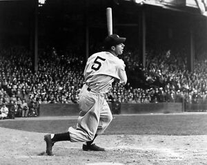 CLASSIC JOE DIMAGGIO AT BAT YANKEES ALL TIME GREAT LEGEND 8x10 GLOSSY  1
