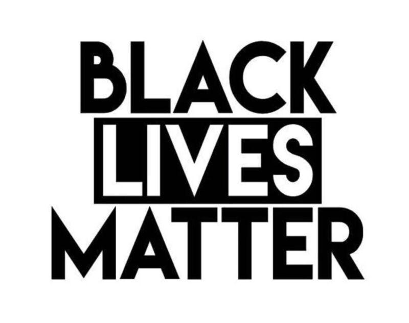 Black Lives Matter 3x5 IInch Vinyl Bumper Sticker Decal