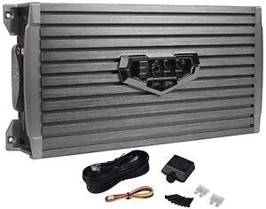 New Boss Armor AR2000M 2000 Watt Mono Amplifier Car Audio Amp + Bass Remote