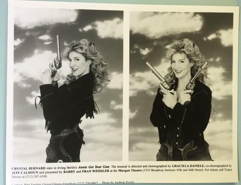 Crystal Bernard Annie Oakley Photo Annie Get Your Gun 2 Smaller Picture on 8X10