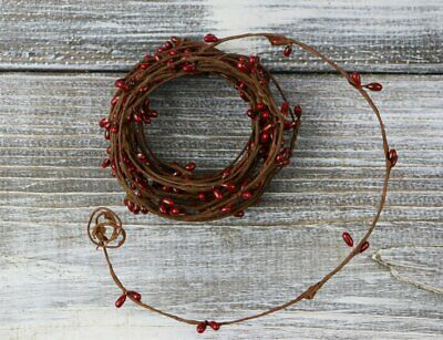 Single Strand Pip Berry Garland (Primitive Red)