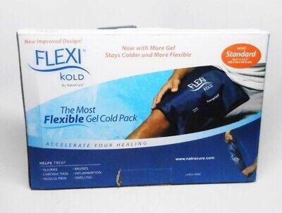 Kold Gel Packs - NatraCure FLEXI Kold Flexible Gel Cold Pack #6300 Standard 10.5