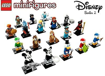 Lego Disney Series 2 Complete Set of 18 Minifigures 71024 - FREE SHIPPING