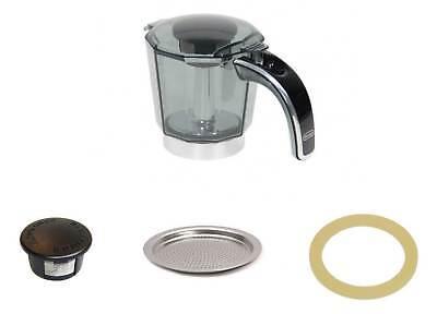 Delonghi caraffa coperchio guarnizione filtro Alicia Plus 4 tazze EMKP42.B