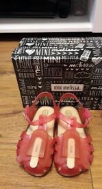 mini melissa lolly ice sandals