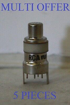 7587 SYLVANIA OR RCA NOS 5 PIECES MULTI OFFER NUVISTOR STYLE VALVE TUBE