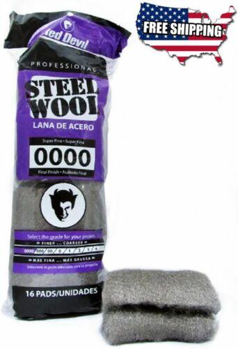 Steel Wool Super Fine 0000 Pack of 16
