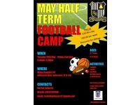 May half term football camp
